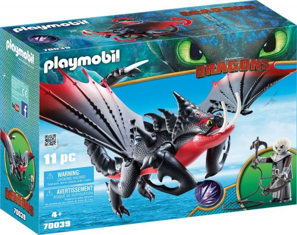 Playmobil Dragons Deathgripper mit Grimmel