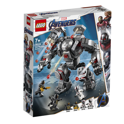 Lego Marvel Super Heroes Avengers War Machine Buster