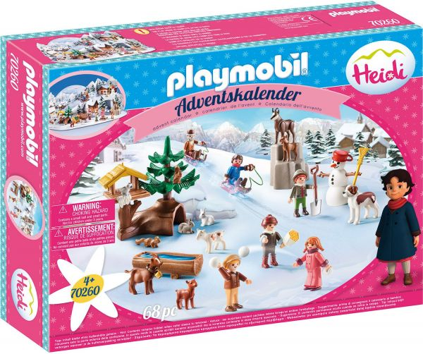Playmobil Heidis Winterwelt Adventskalender