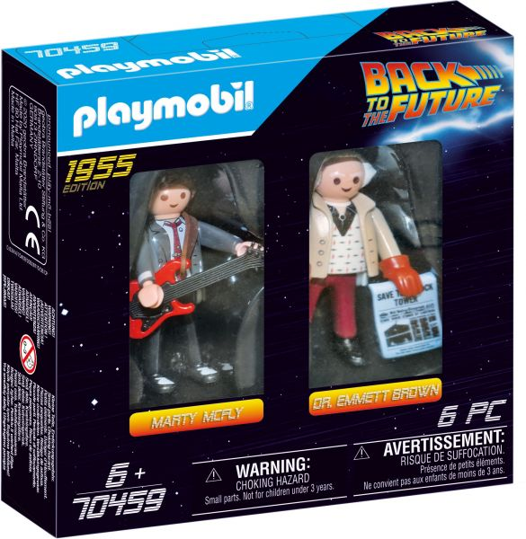 Playmobil Back to the Future Marty McFly und Dr. Emmett Brown