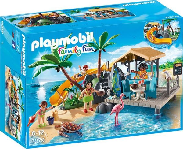 Playmobil Family Fun Karibikinsel mit Strandbar