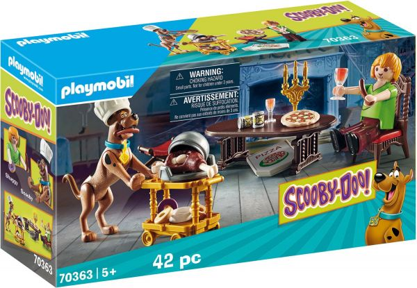 Playmobil SCOOBY-DOO! Abendessen mit Shaggy