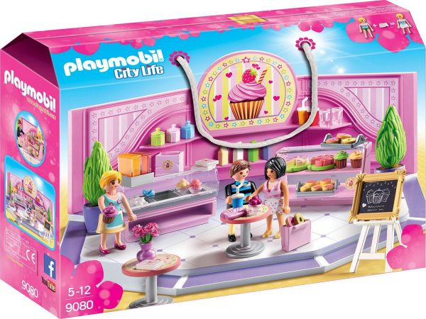 "Playmobil 9080 City Life Café ""Cupcake"""