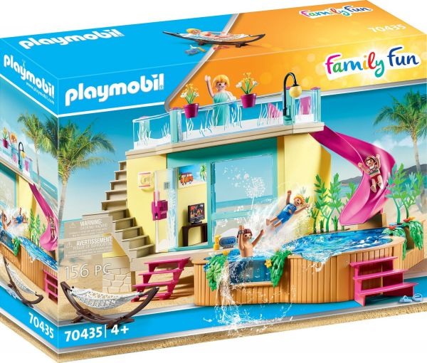Playmobil Family Fun Bungalow mit Pool